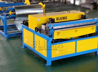 Línea de ductos BLKMA y entrega de la máquina de ductos en espiral a Australia