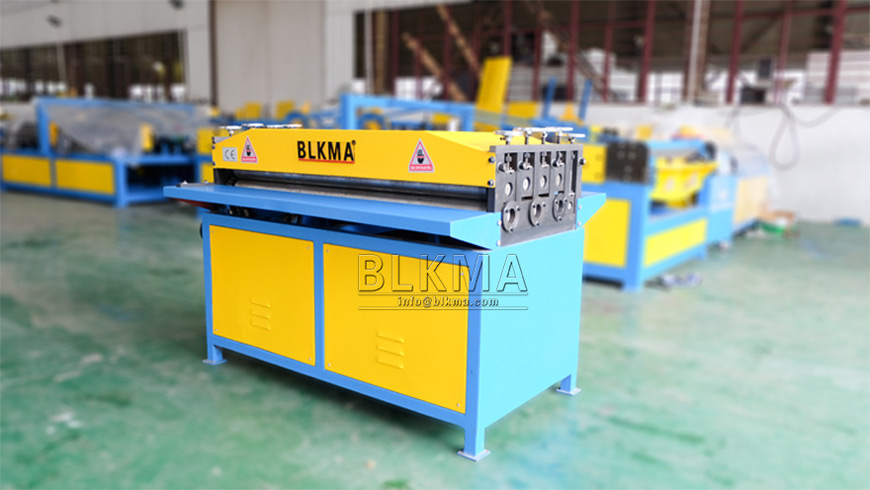 Leveling And Beading Machine